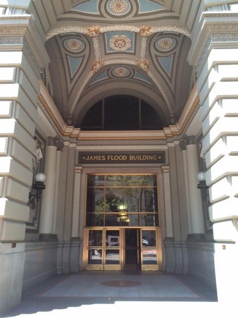 Flood Building Main Entrance at 870 Market Street