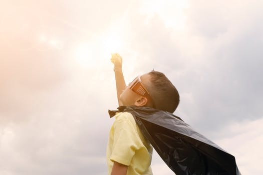 Is your child a superhero in the kitchen?