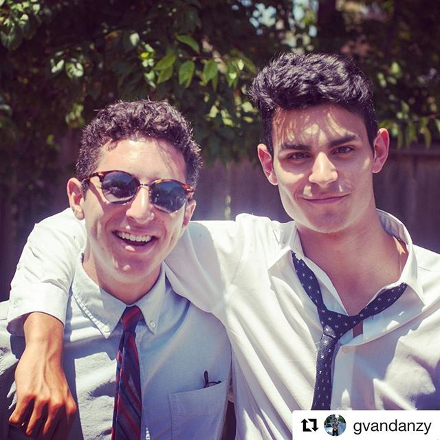 #Repost @gvandanzy ・・・ Couldn't be happier to join the mishpacha, get ready for a wild ride, big. #aepi