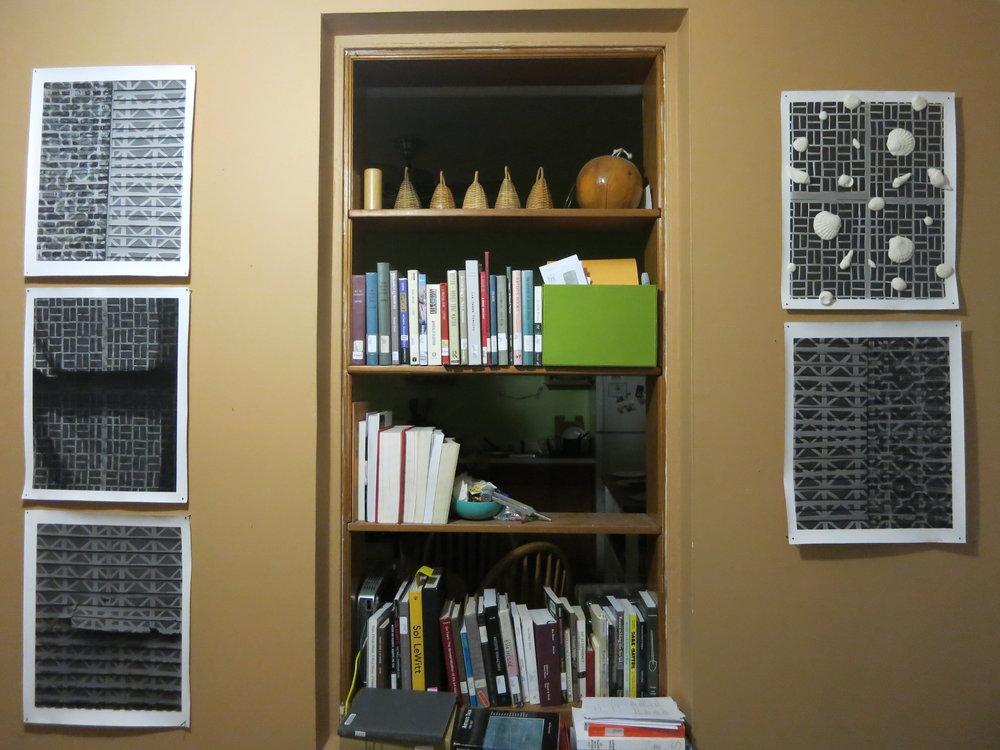A selection from the series  Muralla Alta  /  High Wall,  Dan Hojnacki and Edra Soto