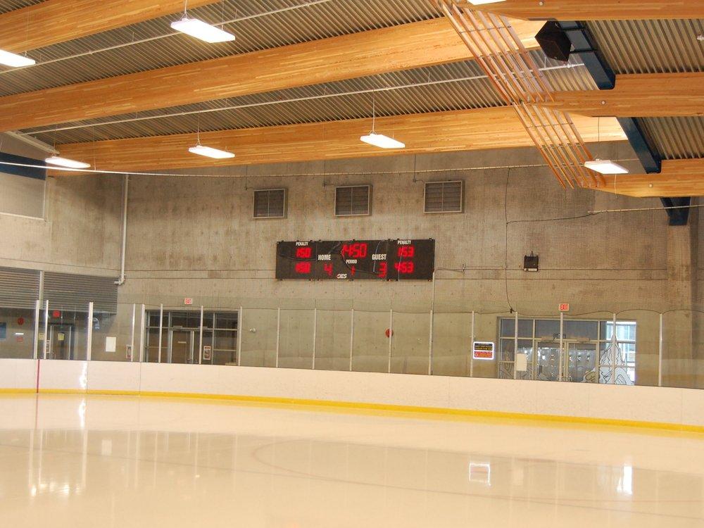 Trout Lake Arena Scoreboard.JPG