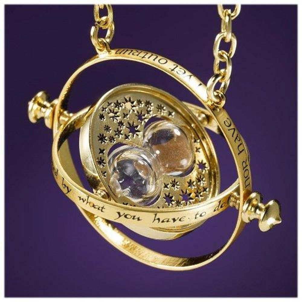 First up is a real, functioning time turner like Hermione has in Harry Potter. Who doesn't want a way to manipulate time?
