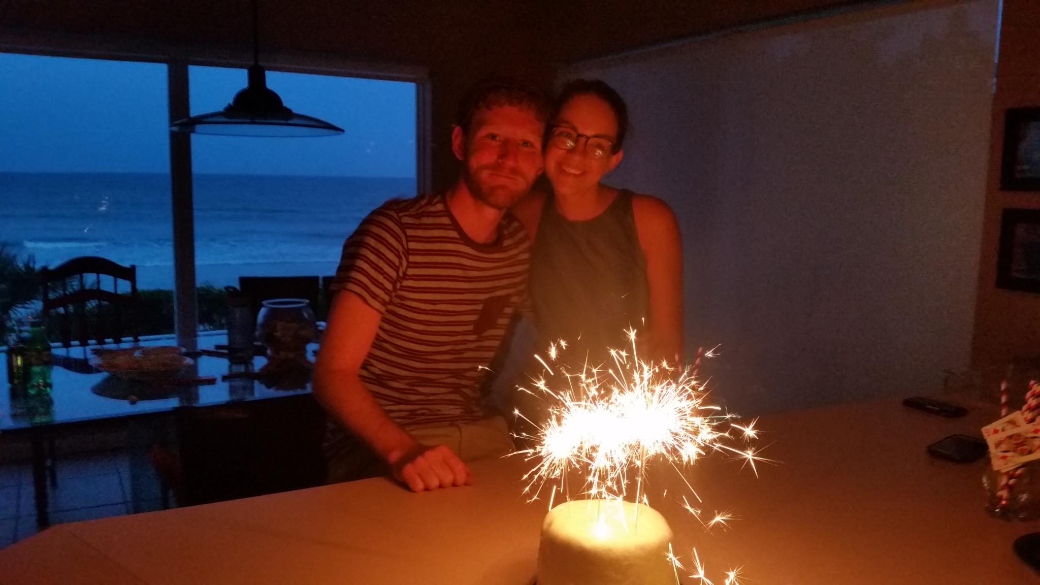 2016 beach dan and christi