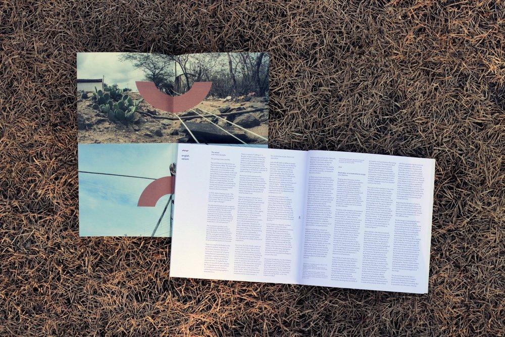 Catálogo, Mostra de arte, Remanso, Amora Consultoria Linguística, Tradução.