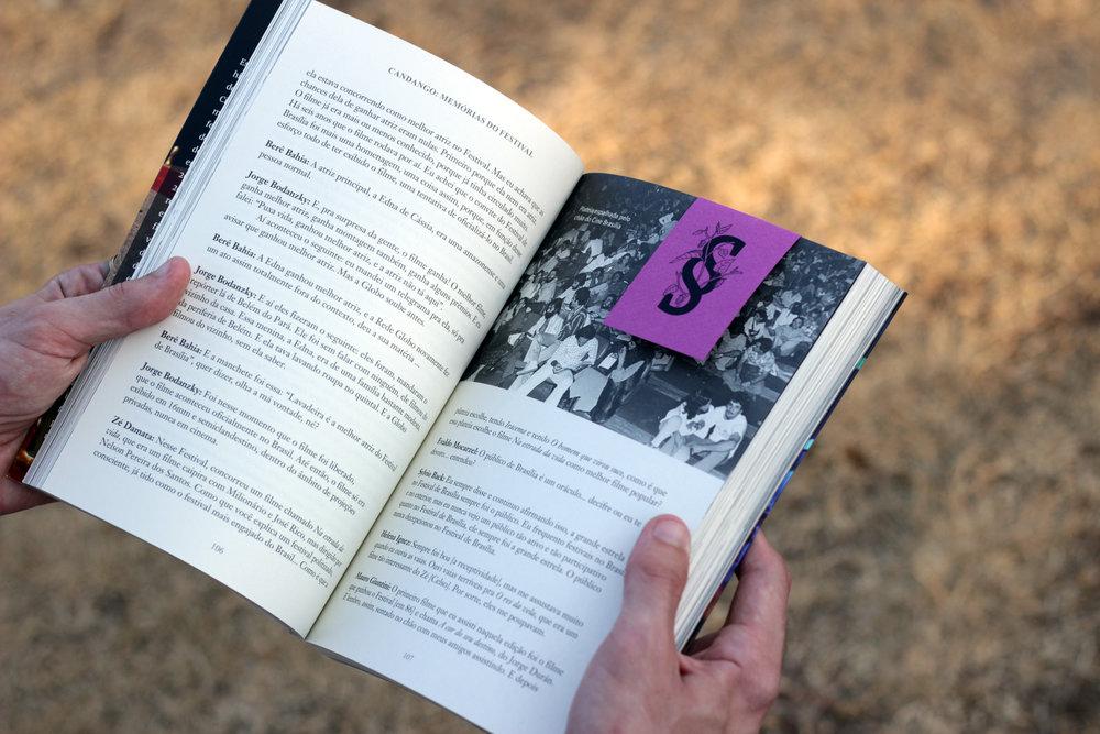 Livro, Candango: Memórias do Festival, Amora Consultoria Linguística, Revisão de Texto.