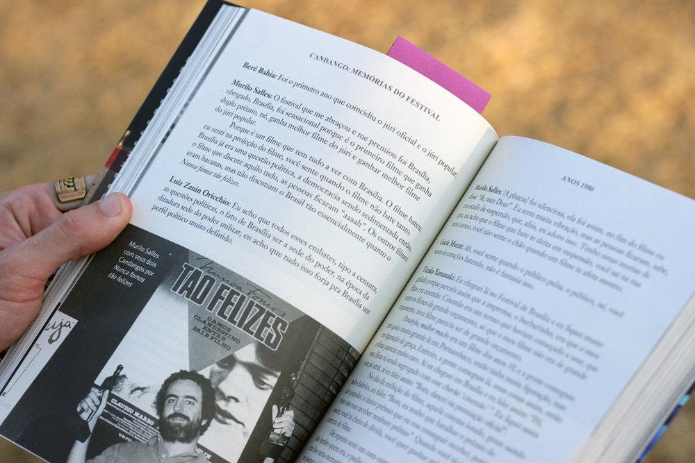 Livro, Candango: Memórias do Festival, Editora Metrópoles, Amora Consultoria Linguística, Revisão de Texto.