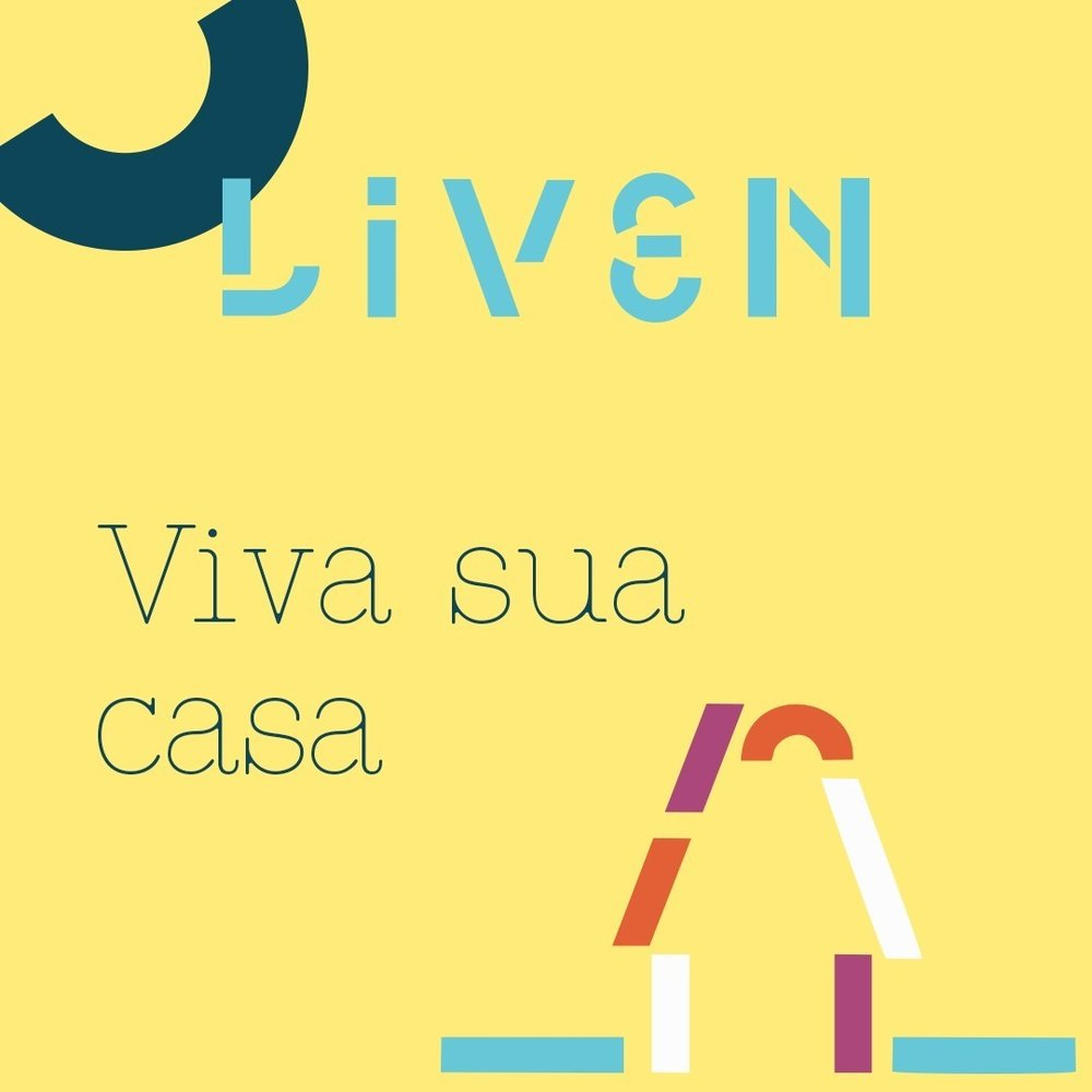 Liven, logo, tagline.