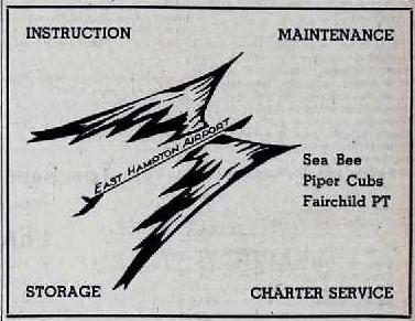 East Hampton Airport Logo 1946