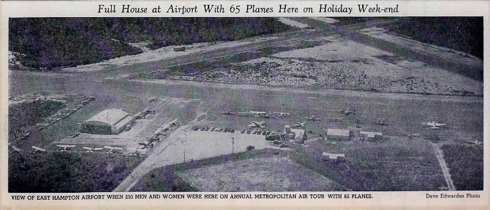 East Hampton Airport 1951