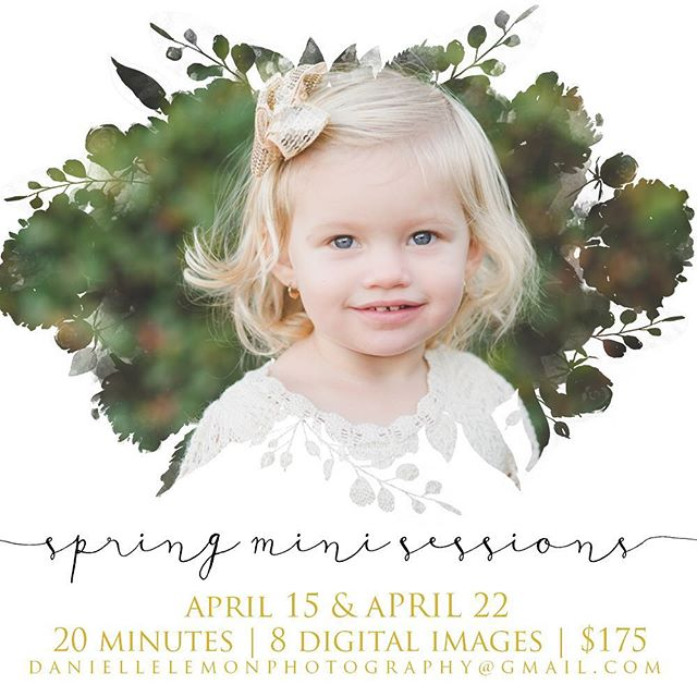 Miniiiiiii Session timeeeeee!!! I've enjoyed the down time this winter so much (I've read so many books!), but it's time to start revving up for warmer weather and lots of family photos!!! Shoot me a message if you want to snag a slot ... This will be the very last time that I offer mini sessions, so if you've been wanting to do one, now is the time! They are easy on kids andddd easy on husbands 😜 . . PS - how cute is my niece? I took her photos back in December and never posted them! #shameonme #iwasbeinglazy