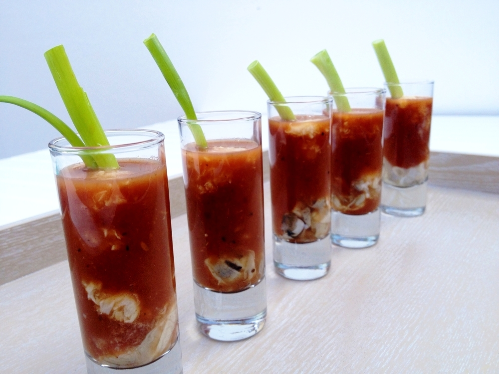 Try our client's favourite:  - OYSTER SHOOTER