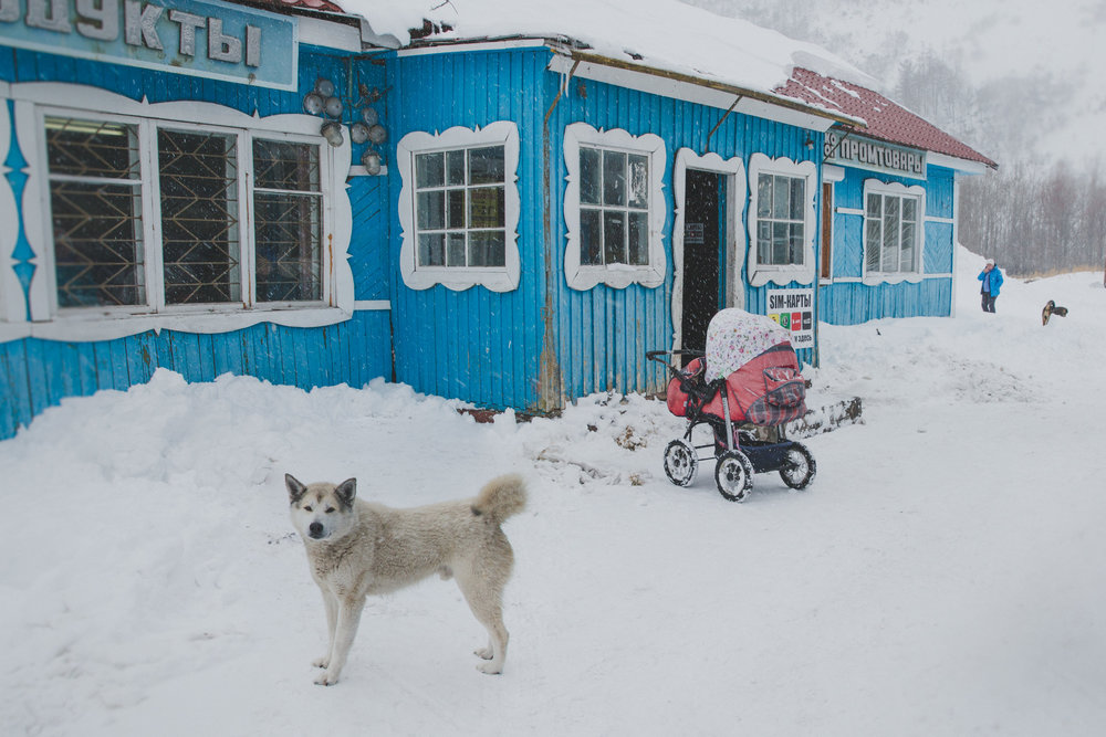 A general store in the town of Avangay in central Kamchatka. Photo: Robyn Penn.