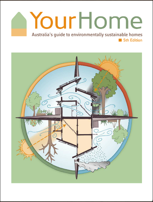 This is  the best single resource  there is for designing a more sustainable home. It's available for free online or pay for a hard copy.