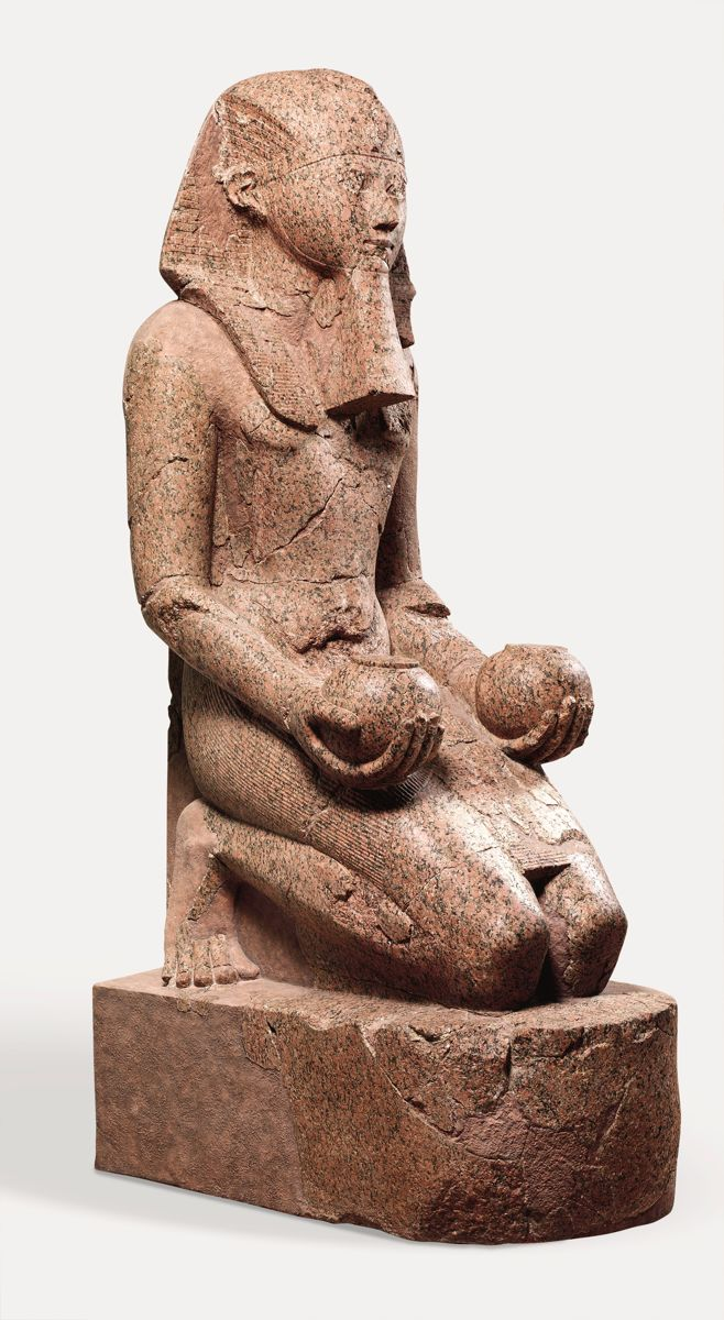 Statue of Hatshepsut from The Metropolitan Museum of Art || ca. 1479–1458 B.C