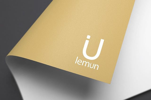 Had a blast with this simple yet playful logo design and branding for #lemun . . #inkdot #design #lemun #organic #organicproducts #saskatoon #saskatchewan #sask #yxe #logodesign #branding