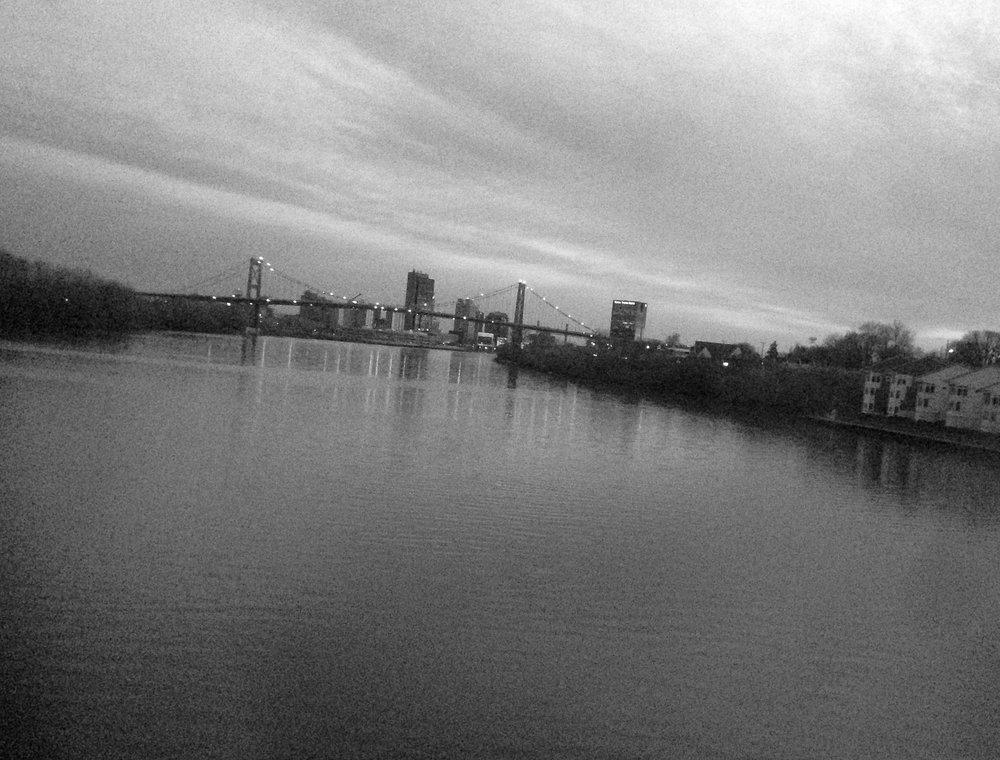Morning in Toledo, Ohio.