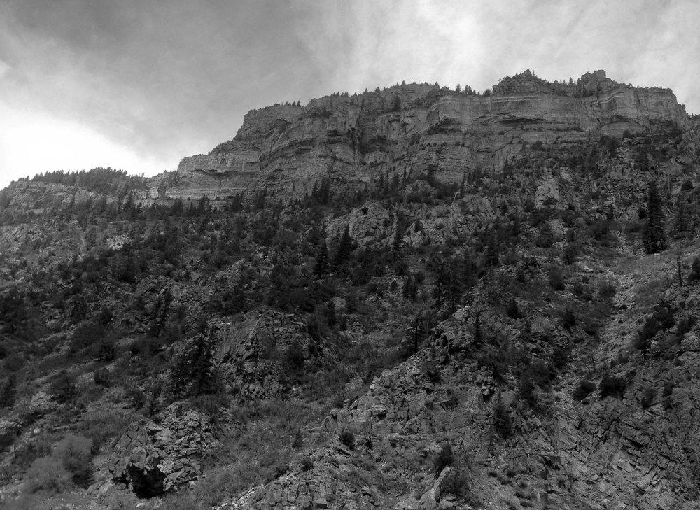 Glenwood Canyon, Colorado.