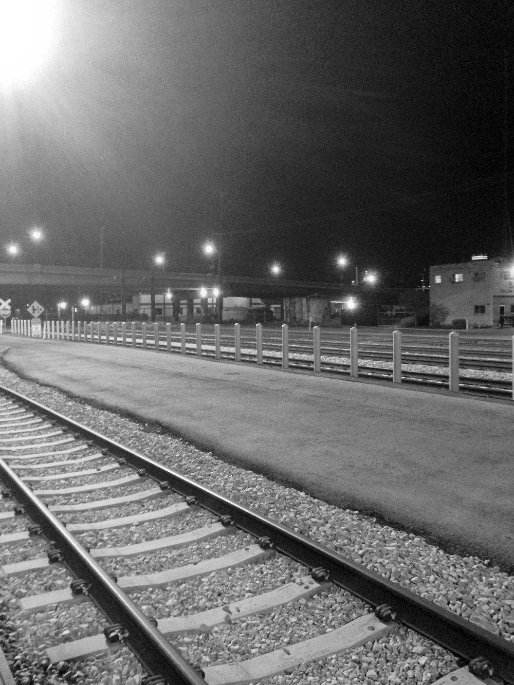 Salt Lake City train station.