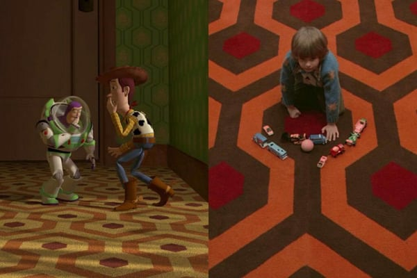 Read more about Toy Story references to The Shining  here .