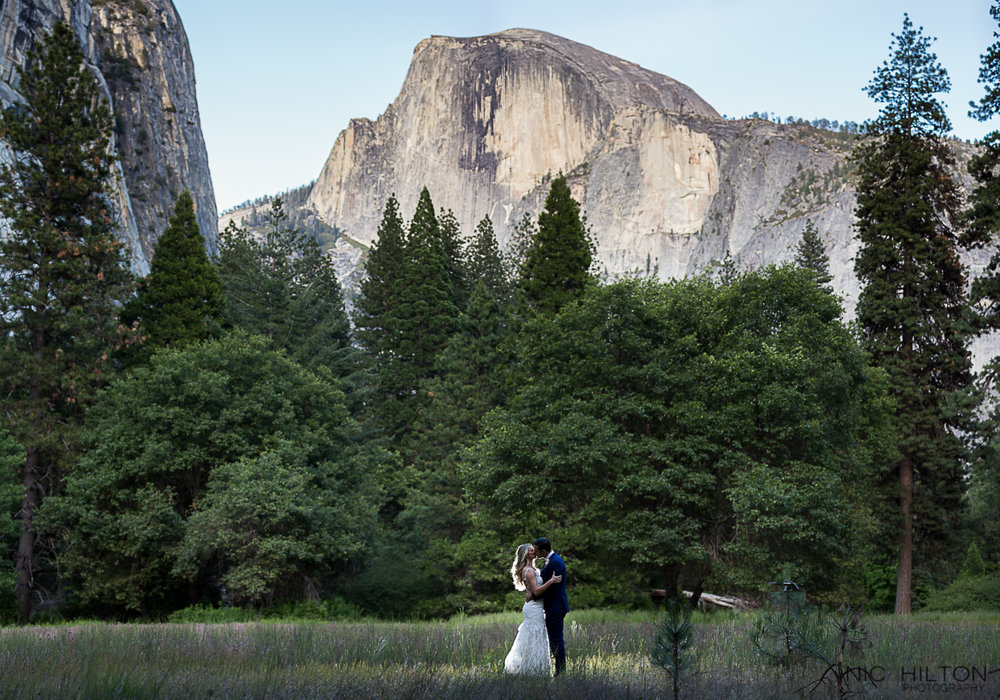 Majestic Hotel Wedding Photography Half Dome