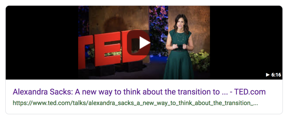 """My work on  Matrescence  soon entered the zeitgeist after a decade effort at dissemination. I like to call it """"farm to table"""" academia, in my intention to educate the public and create quicker pathways from the Ivory Tower to the hands of the public. Here is  Matrescence  transformed into a Ted Talk by a local NYC reproductive psychiatrist."""