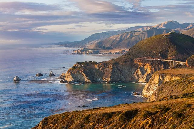 """Stuff your eyes with wonder, live as if you'd drop dead in ten seconds. See the world. It's more fantastic than any dream made or paid for in factories."" – Ray Bradbury  #roadtrip #california #adventuretravel #wanderlust #bigsur #vanlife"