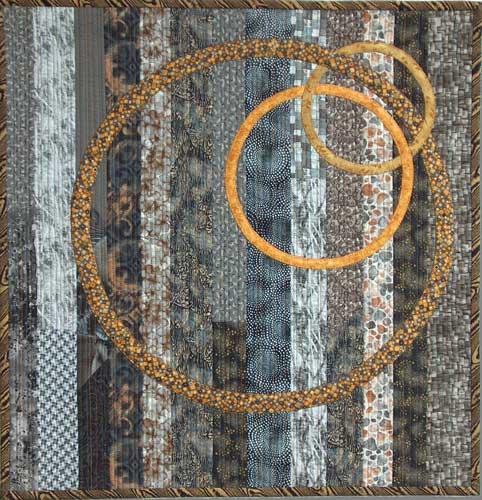 Helen Benninger Gold Circles