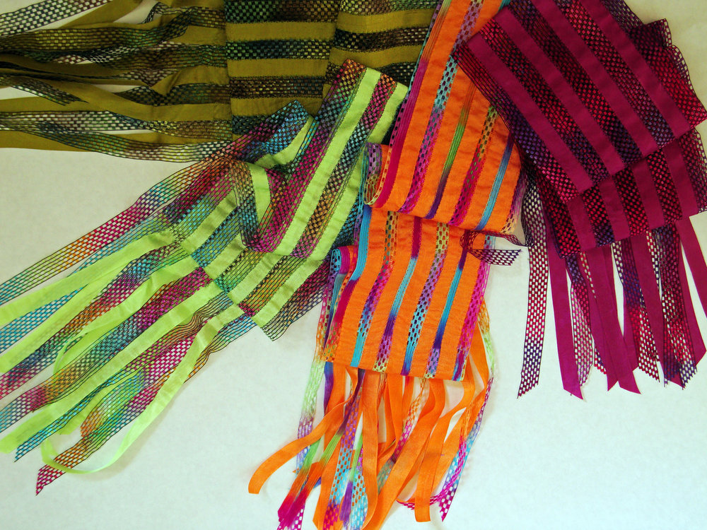 Ribbon Scarves Helen Benninger
