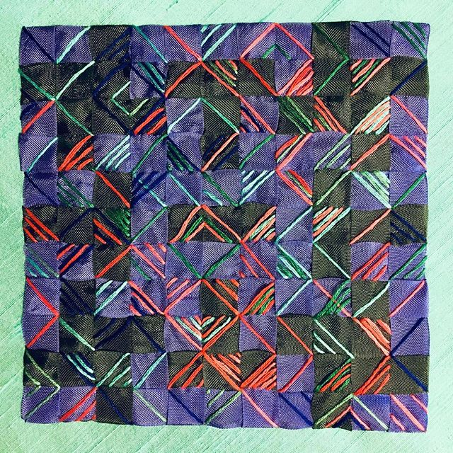 My ribbon weaving is part of the Etobicoke Handweavers and Spinners Guild show on now at Neilson Park Creative Centre. Until January 27 #fibreart #handweaving #neilsonparkcreativecentre #etobicoke #etobicokeart