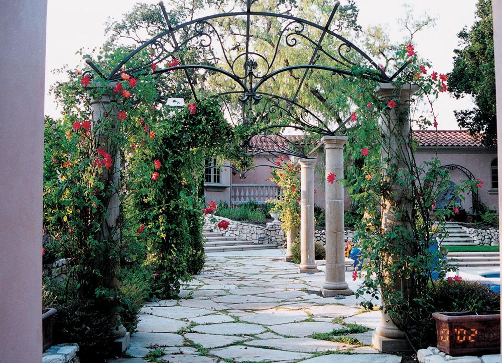 Lightweight GFRC Tuscan Segmented Columns