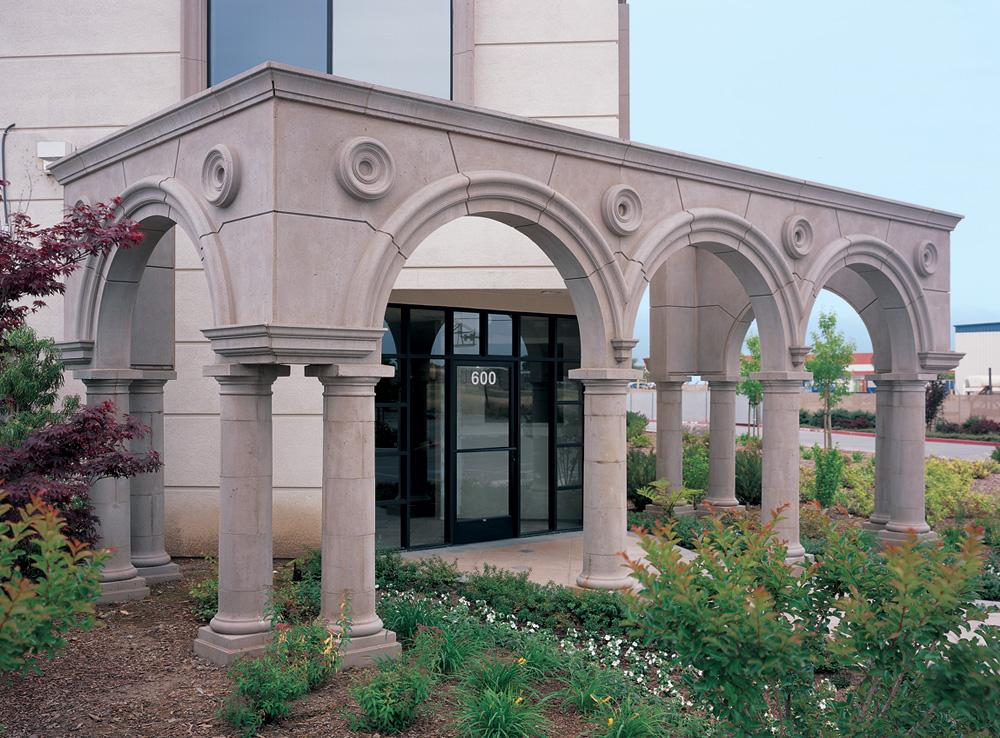 Tuscan Segmented Colonnade