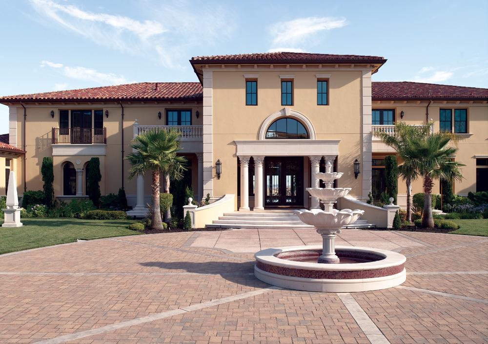 Colonnade, Lintel & Eave Corbel Details, Corner Quoins, Window & Wall Trims, etc.