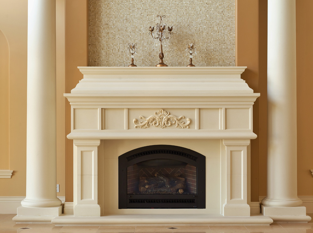 Grande Mantel & Hearth
