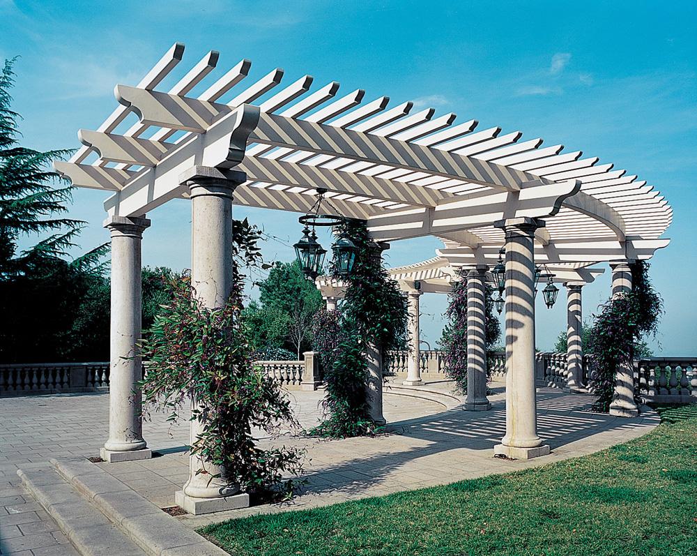 Tuscan Column Colonnade