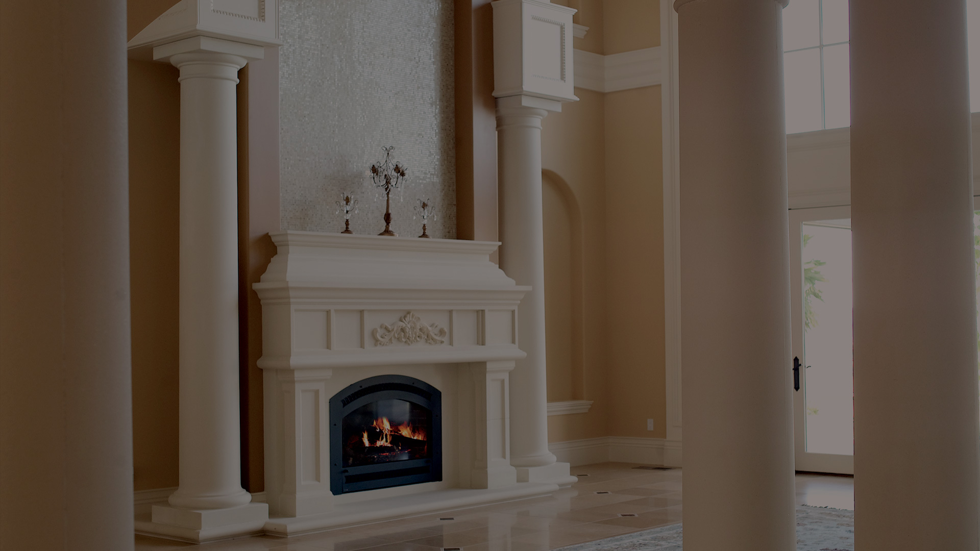 fireplace mantels u2014 architectural facades