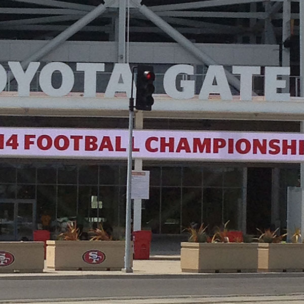 SF 49ers Stadium Bench & Planter Barriers, Santa Clara -