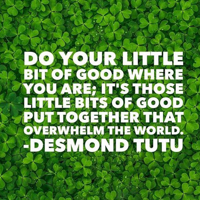 . Be the good that this world needs ☘️✌🏼 ••• #StPattysDay #SundayVibes #PositiveVibes #Inspo #MentalHealth #MentalHealthAwareness #BeTheGood #BeTheChange #ChangeTheWorld #Kindness #BeKind #BeKindAlways #DareToOfferPeaceToEveryone #DOPE