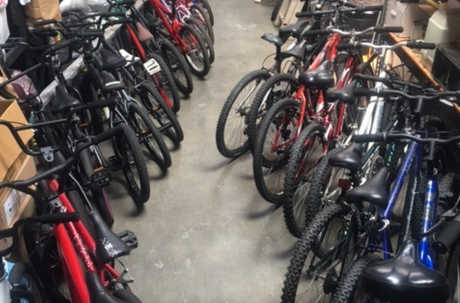 Collected and distributed over 80 bicycles -