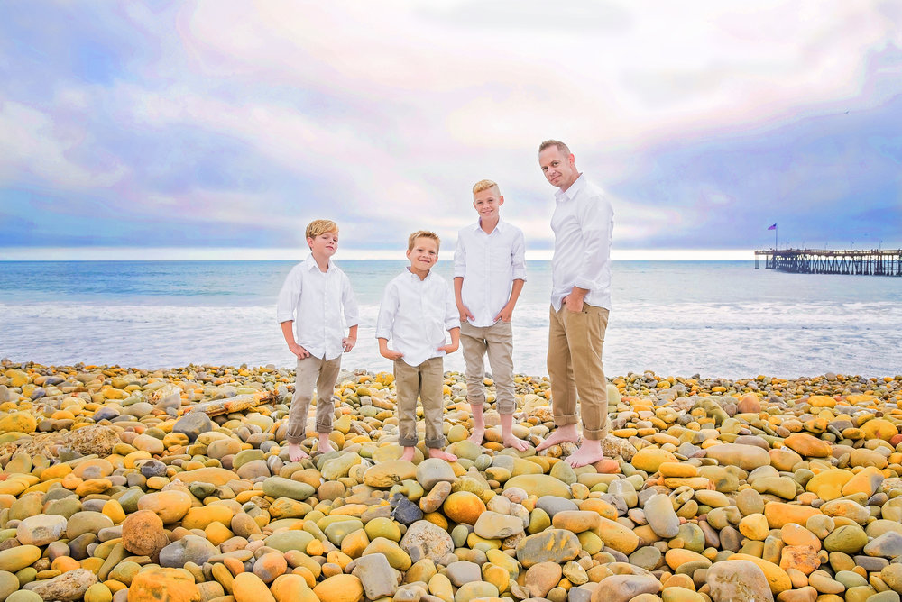 Family Father Sons | Lifestyle Portrait Photography | Lacey O