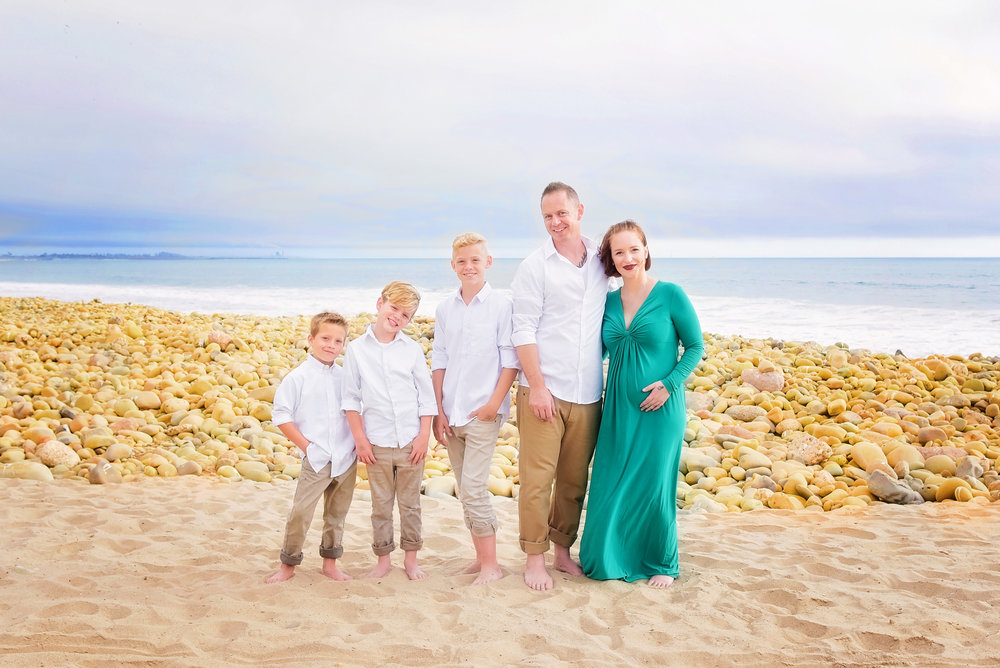 Family Photos Mother Father Sons | Lifestyle Portrait Photography | Lacey O