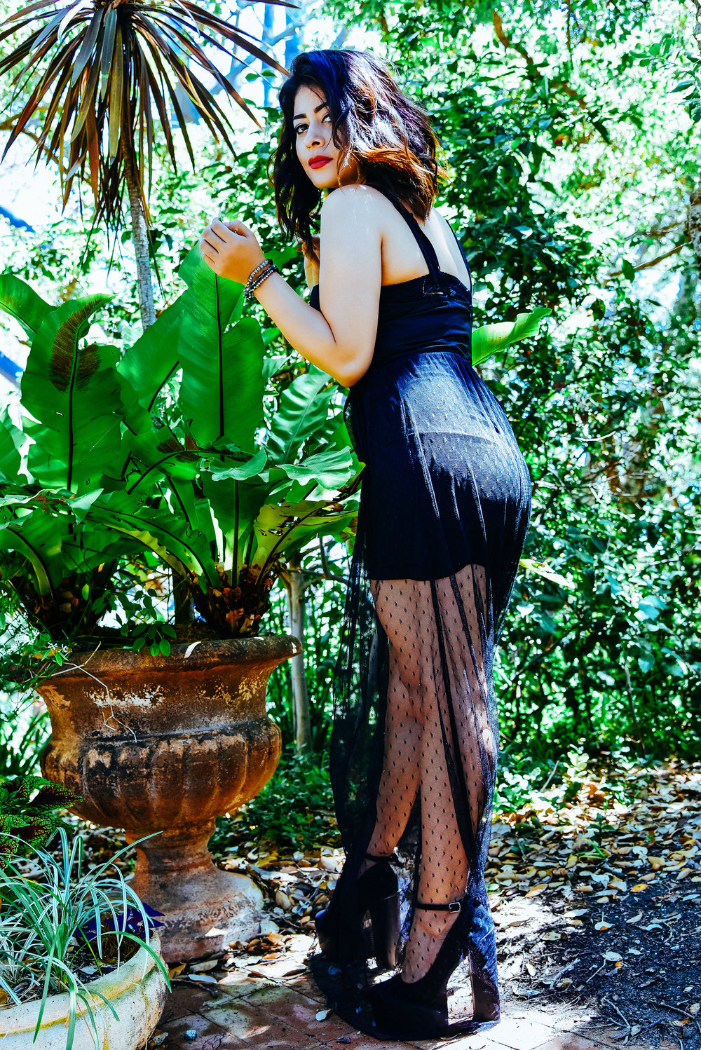 Fashion Black Dress | Fashion Photography | Lacey O