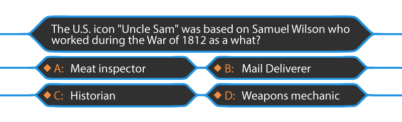 uncle sam multiple choice question elearning