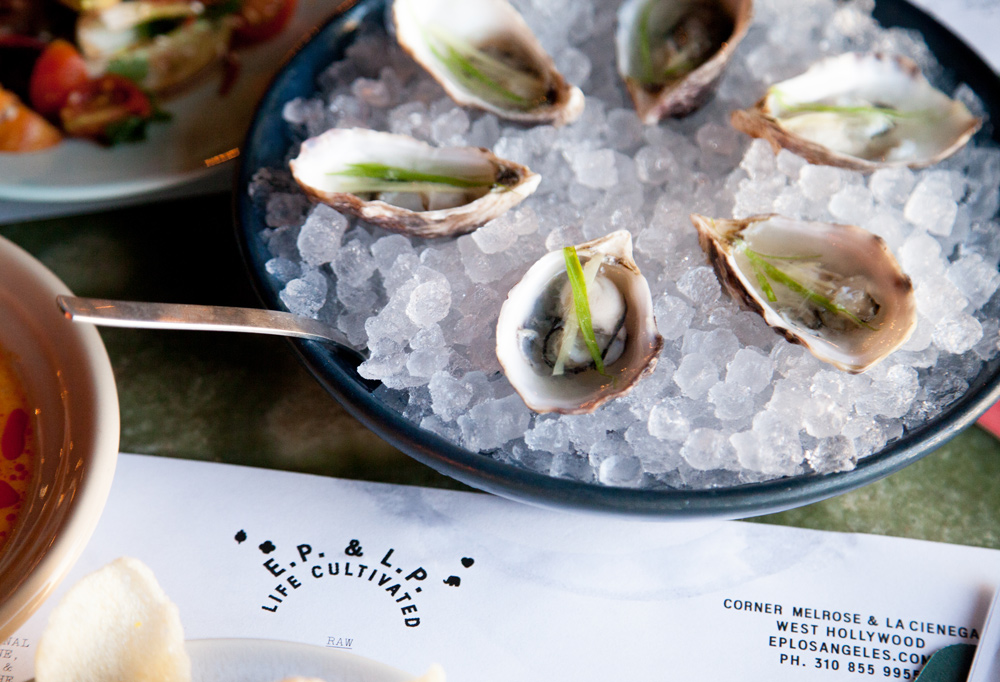 Kusshi Oysters w/ White Soy
