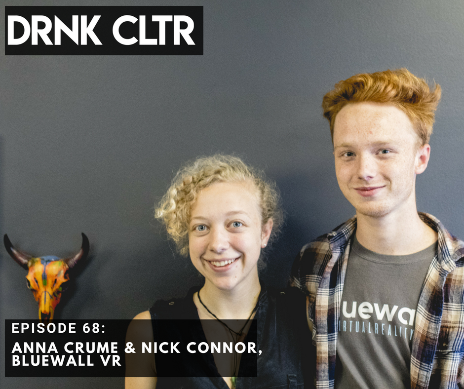 Episode 68: Anna Crume & Nick Connor, Bluewall VR -