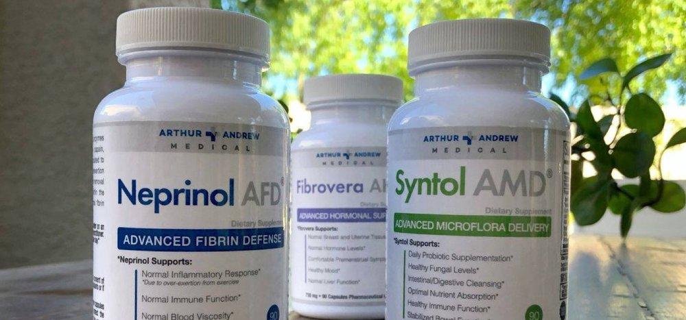 Arthur Andrew Medical supplements in bottles .jpg