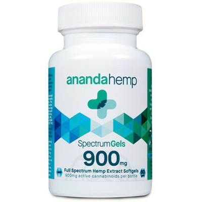 3. Ananda Hemp Full Spectrum CBD Gels 900 mg - When the stress becomes a bit too much, we recommend Ananda full spectrum gels. Each capsule has 15mg of CBD and .3% THC to relieve stress, anxiety, and minor pain, plus it can help improve sleep. Use one to two capsules a day for a calm feeling.