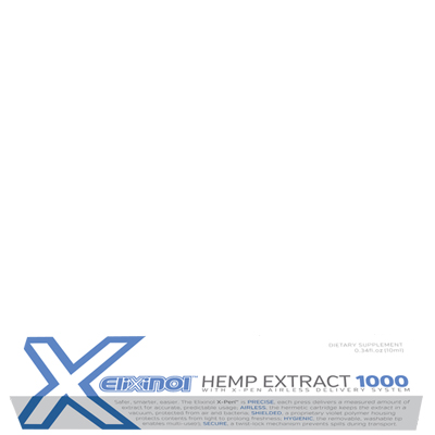 4. Elixinol X-Pen Hemp Extract 1000mg - Take your CBD oil with you on the go with this convenient X-Pen from Elixinol. With each click of the pen, you'll receive exactly 15mg of a full spectrum hemp extract that includes both THC and CBD. It's the best product for serious and chronic health conditions plus it's a Spirit of Health favorite!