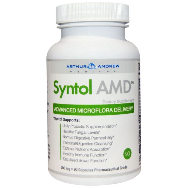 Syntol - Unlike other probiotics, this blend is highly effective at killing candida. The enzymes digest the yeast to remove it while the probiotics increase the level of good bacteria. Take one to four capsules between meals for healthy gut support.