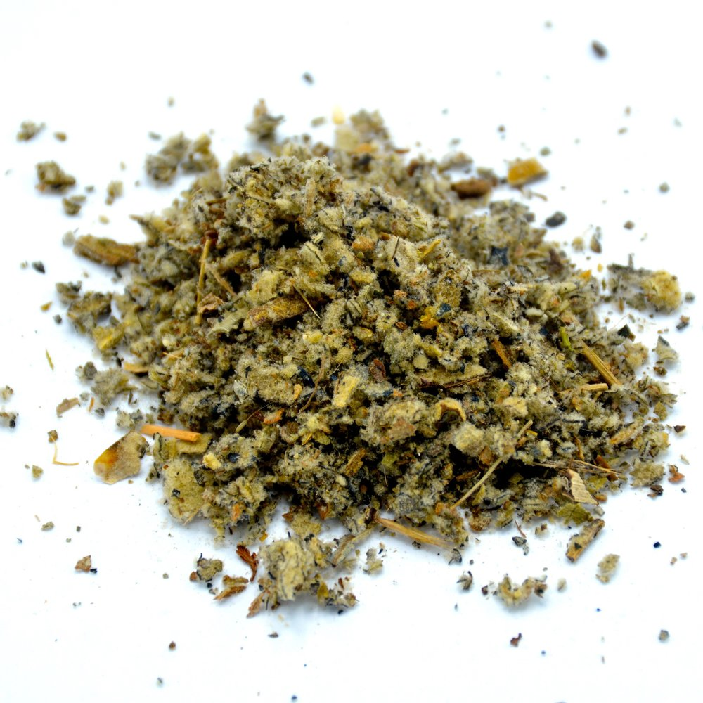 3. Mullein Leaf - Breathing is far more difficult when allergies arise, but with Mullein Leaf it doesn't have to be. The potent herb clears congestion from the lungs and passages for easy-breathing.