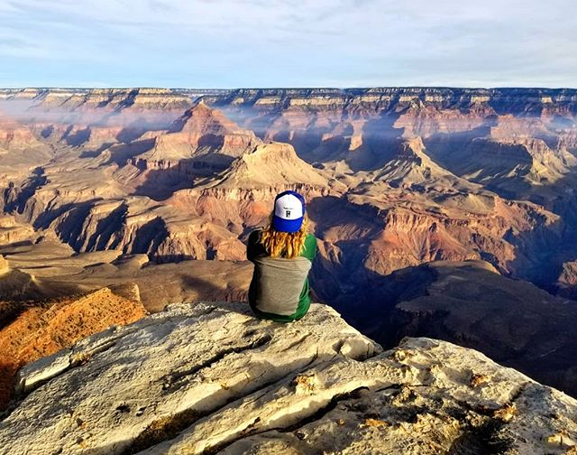 Happy 100th birthday to @grandcanyonnps . If you get a chance to visit, even just for a day, try to make sunrise and sunset, it will blow your mind. #trailsandalesdc #hikelocaldrinklocal #findyourpark #grandcanyon